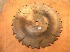 6) old tool / OUTIL lame Scie Circulaire carbure Disque à couper diamètre  35 cm