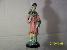 Goldscheider Antique Fine China Porcelain Oriental Geisha Figurine