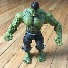 "Marvel Diamond Comic Dist Select Unleashed Incredible Hulk Action Figure 9"" •Euc"
