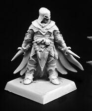 The Red Raven Reaper Miniatures Pathfinder Rogue Assassin Fighter Melee Hood RPG