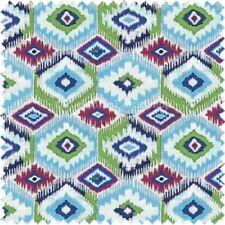 Telas y tejidos geométricos de poliéster para costura y mercería