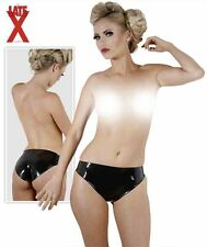 "PANTIES LATEX GERMANY .4MM THICK FULL CUT 5 /"" HOLLOW SHEET  INSIDE BLACK SM-XL"