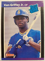 1989 Donruss Ken Griffey Jr. Rated Rookie RC #33 Mariners 🔥📈🔥📈