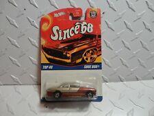 Hot Wheels Since '68 Top 40 Gold/Brown Shoe Box