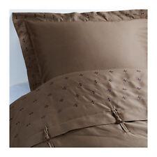 IKEA vinranka King Taille Couette/Housse de couette et 4 taies d'oreiller, coton marron/satin