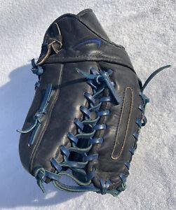 "NIKE Swingman 12.5"" Black/Blue Baseball Softball Glove RH Thrower KEN GRIFFEY JR"