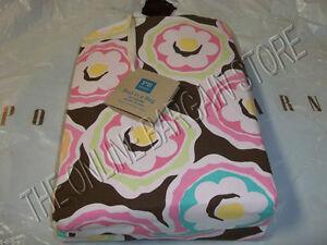 Pottery Barn PB Teen Liv Floral Flower bed in bag duvet sheets 3 Pcs XL TWIN