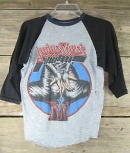 Original Vintage Concert T Shirt JUDAS PRIEST 1984 Defenders Tour KEEP THE FAITH