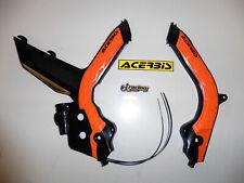 Acerbis X-Grip Rahmenschutz Protektor Rahmen frame Ktm Exc Exc-f 2020 sw/or