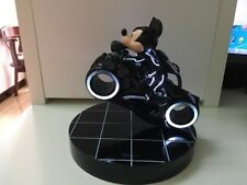 Extremely Rare! Mickey Mouse on Tron Movie Motorbike LE of 888 Figurine Statue