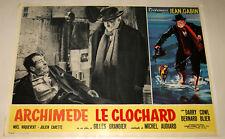 n°9 fotobuste film ARCHIMEDE LE CLOCHARD Jean Gabin Gilles Grangier 1959