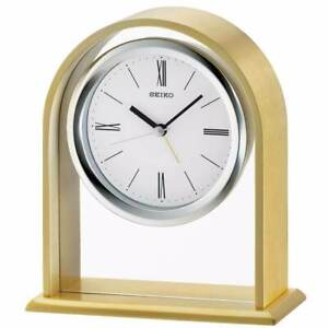 BRAND NEW Seiko Carter Desk and Table Clock QHE134FLH