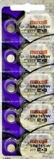 5 NEW MAXELL SR626SW 377 Silver Oxide 1.55v Watch Batteries Aussie Stock EXP2022