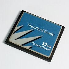 32MB CompactFlash Card Standard Grade for Industrial Use, CF Card 32MB