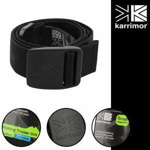 Karrimor Walking Belt Mens Ladies Trouser Shorts Running Buckle Hiking Black S L