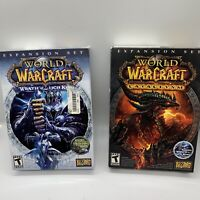 Lot of World of Warcraft: Cataclysm & Wrath Of The Lich King Expansion Set