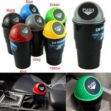 Mini Auto Mülleimer Müllbehälter Abfalleimer Abfall Staub Kasten Halter
