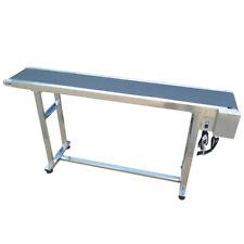 "No Guardrail&Standard Type Conveyor System 59""*7.8"" Conveyor for Various Using"