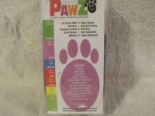12 PawZ Protex Dog Rubber Boots Waterproof  Slip On Large Purple