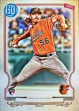2020 Topps Gypsy Queen NO NAME Variation #197 Hunter Harvey SP