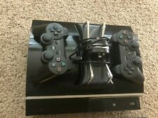 Playstation 3 80GB Console with controllers and cables