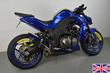 Kawasaki Z1000 2014-2016 SP Engineering Carbon Fibre Stubby Moto GP Exhausts