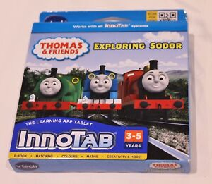 VTech InnoTab Tablet Software Game Thomas & Friends Exploring Sodor 2012 BrNew