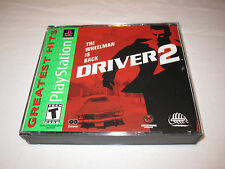 Driver 2 (PlayStation PS1) GH Game Complete Excellent!