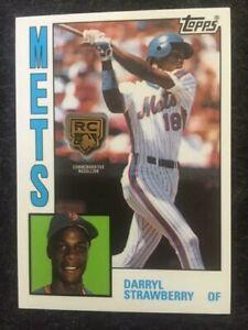 2020 Topps Darryl Strawberry Rookie Retrospective RC Logo Medallion Card Mets