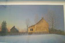 Winter Glow artist Ward Nichols 546/950 Numbered signed framed