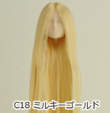 Obitsu Doll 27cm hair implantation head for Whity body (27HD-F01WC18) M Gold