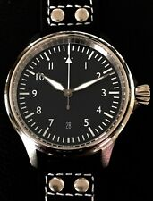 Cole Watch Company Fleiger 40mm pilot watch ETA 2824-2