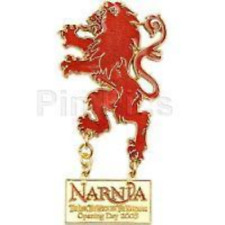 Disney Pin 43225 WDSB Narnia The Lion Witch & Wardrobe Opening Day Aslan LE 500