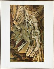Marcel Duchamp Nude Descending a Staircase No 2  Vntg Orig 1960 1st Ltd Ed Litho