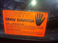 BMW E30 M3 E24 M6 E28 M5  M635csi E32 Decal Aufkleber
