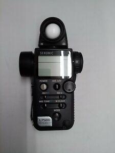 [ Attention ] SEKONIC L-758 D Digital Master Light Meter from japan