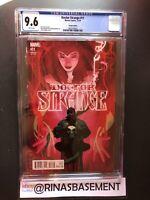 Marvel Comics Doctor Strange #11 B Hughes cvr 1:50 Variant CGC 9.6 Scarlet Witch