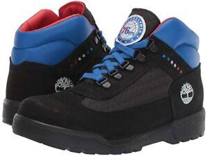 Timberland Boy's Philadelphia 76ers (Big Kid) Black Fabric/Leather sz 6.5 or 7
