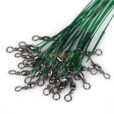 Useful New Anti-bite Fishing Wire Trace Lures Leader Stainless Steel AU OZ
