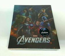 THE AVENGERS [2D + 3D] Blu-ray STEELBOOK [NOVAMEDIA] LENTICULAR [KOREA] OOP #153