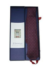 Cravatta MARINELLA 100°Anniversario Con Scatola