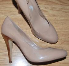 446f03fa82 JESSICA SIMPSON Nude beige Camel patent DRESS pumps 4