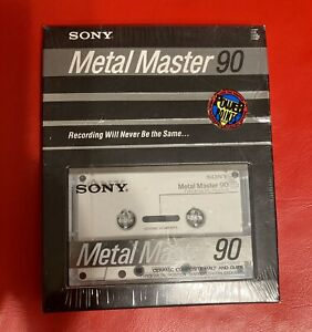New Sony Metal Master 90 Ceramic Composite Type IV Cassettes Tapes Sealed