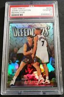 1997 JOHN STOCKTON TOPPS FINEST DEFENDERS REFRACTOR #297 PSA 10 JAZZ HOF POP 5