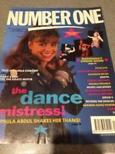 "Madonna ""NUMBER ONE"" magazine uk 1990 - madonna - paula abdhul"