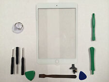 Front Panel Touch Screen Glass Digitizer for iPad Mini 3 3rd Gen IC Chip White