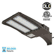 150W LED Parking Lot Light with Photocell, Arm Mount Area Flood Light