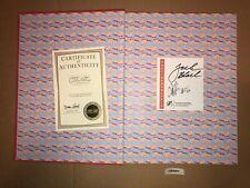 Tenacious D Jack Black Signed Autographed Book Kyle Gass School of Rock Apocalyp