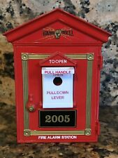 Gamewell Fire Alarm Station Box Replica Diecast Metal Bank by First Gear Inc.