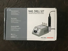 Nail Drill Set Designed For High Quality Work Pro Drill 30000 Rpm Open Box